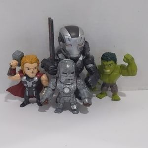 Marvel Metals Super Heroes Thor, Hulk